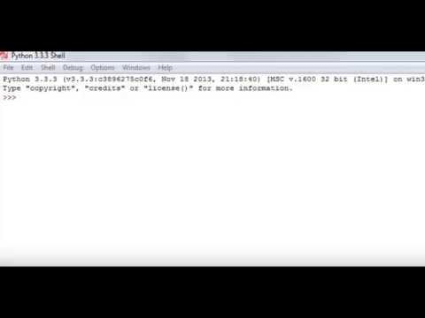Python Programming Tutorial 2