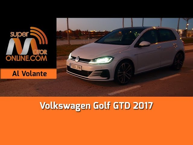 Volkswagen Golf GTD 2017 / Al volante / Prueba dinámica / Review / Supermotoronline.com