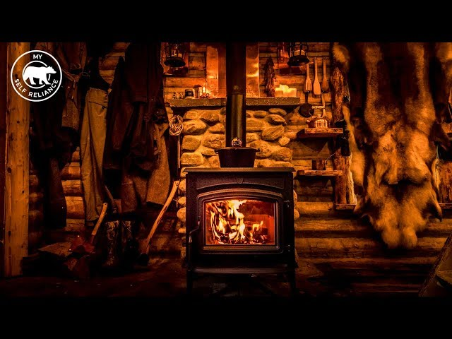 A New Wood Stove for My Rustic Log Cabin
