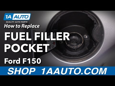 How to Replace Fuel Filler Pocket 09-14 Ford F-150