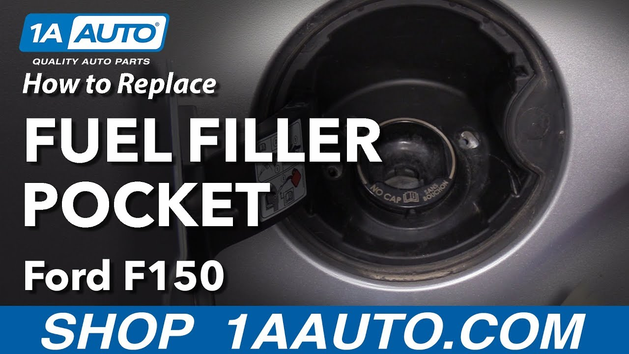 Fuel Filler Door Cap Gas Tank Lid For 2009 2010 2011 2012 2013 2014 Ford F-150