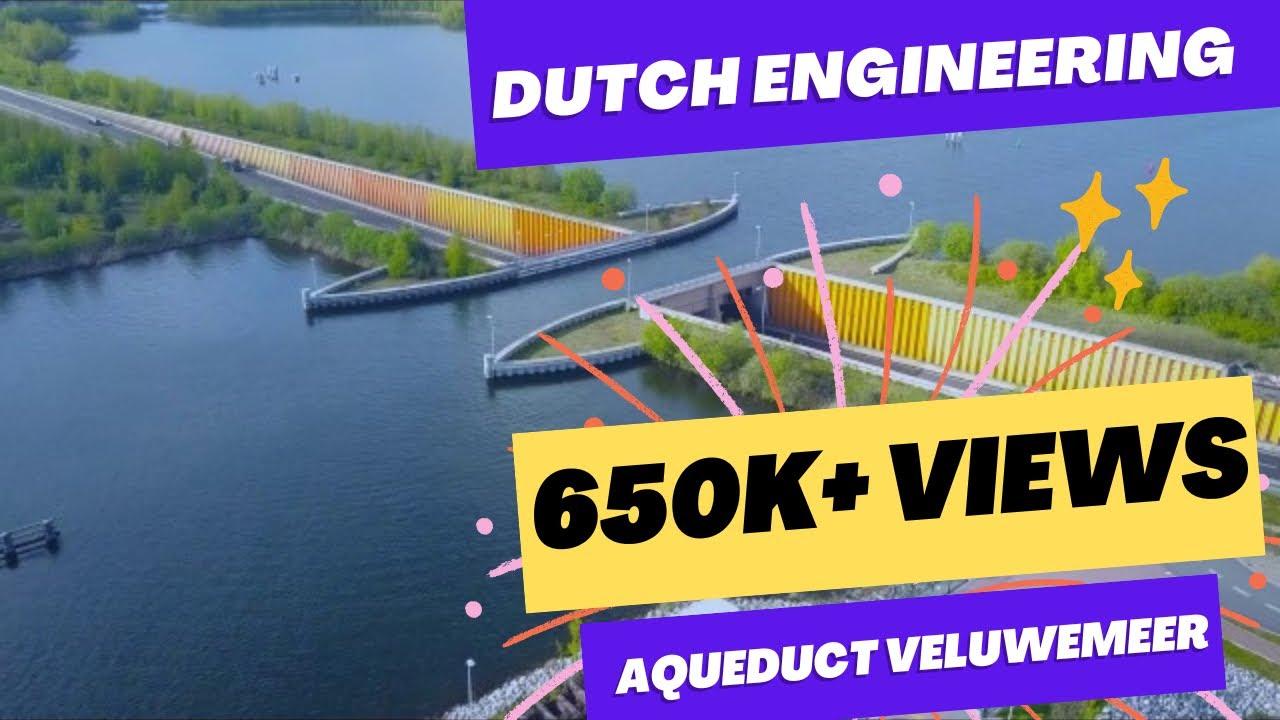 """Fantastični """"vodeni most"""" u Holandiji"""