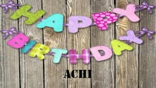 Achi   wishes Mensajes