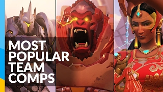 3 Most Popular Team Compositions in Overwatch