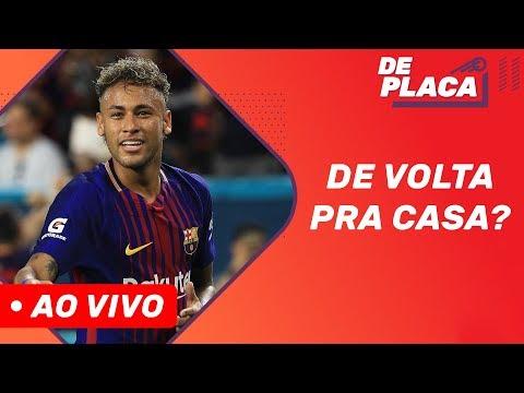 Neymar mais próximo do Barcelona e Coutinho na mira do PSG? | De Placa (13/08/2019)
