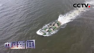 [中国新闻] 粤东海域 两栖装甲海上战斗射击 | CCTV中文国际