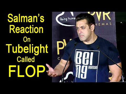 Salman Khan's Reaction On Tubelight Being A FLOP Movie