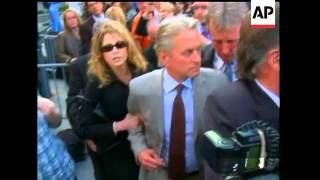 A New York judge sentenced Michael Douglas' son, Cameron, to five years in prison Tuesday for dealin