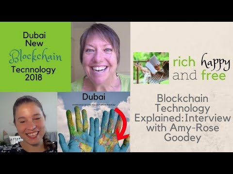 Blockchain Technology Explained: An Interview With Amy-Rose Goodey