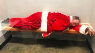 Cops Mock Suspect in Santa Suit on Social Media