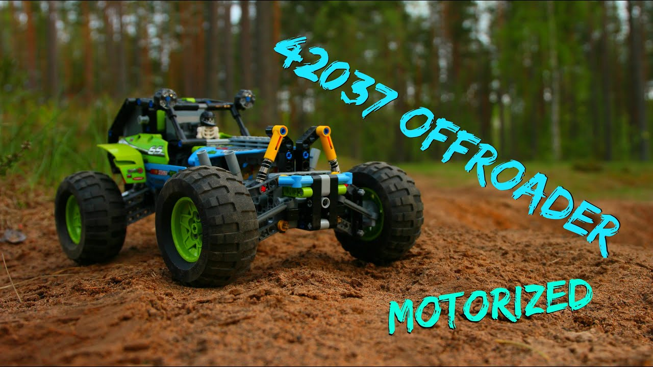 lego technic 42037 offroader motorized w instructions. Black Bedroom Furniture Sets. Home Design Ideas