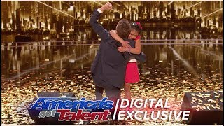Angelica Hale Chats About Winning Chris Hardwick's Golden Buzzer - America's Got Talent 2017