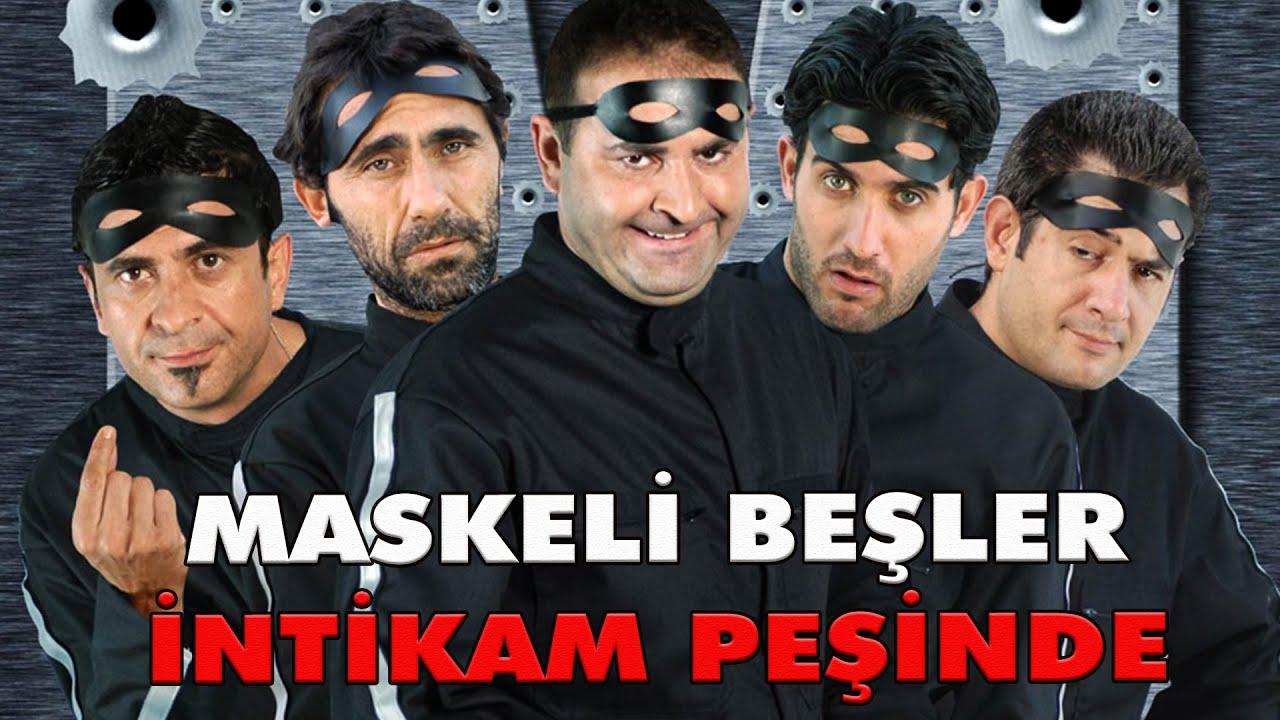 Maskeli Beşler İntikam Peşinde | Türk Komedi Filmi Tek Parça