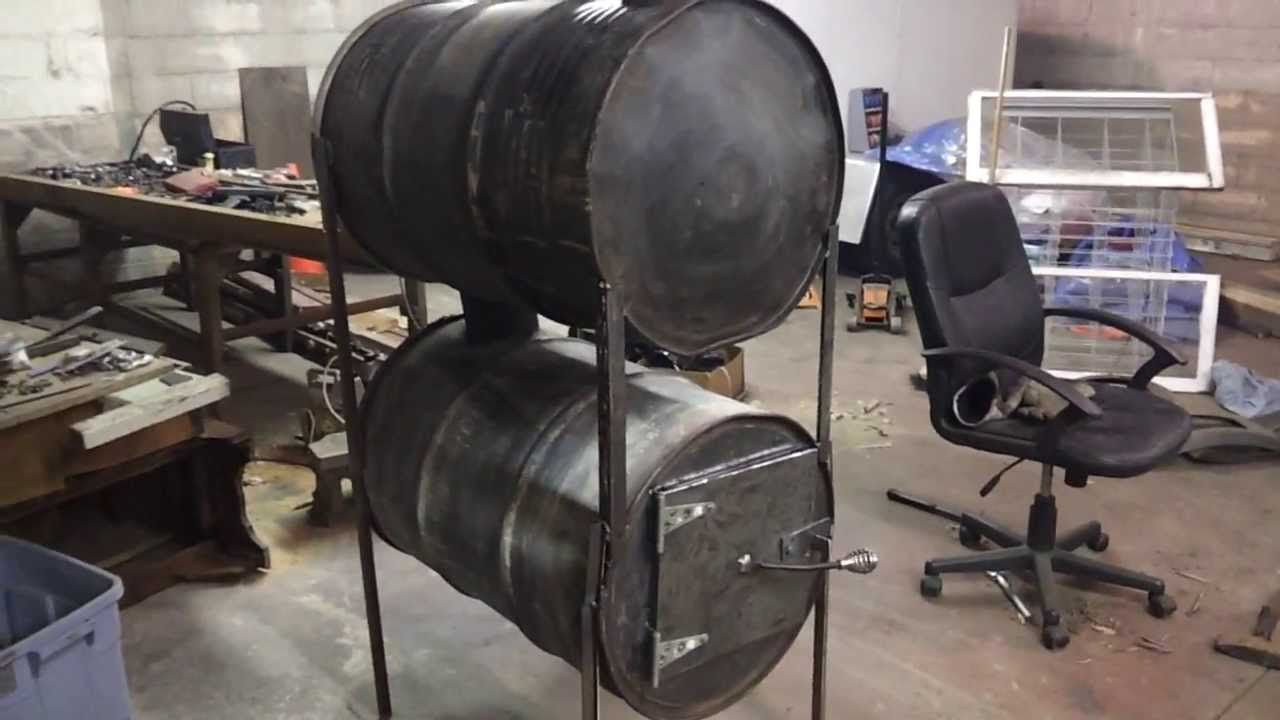 - Barrel Stove Build (No Kit) - Part 4 - YouTube