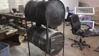 Barrel Stove Build (no Kit) - Part 4