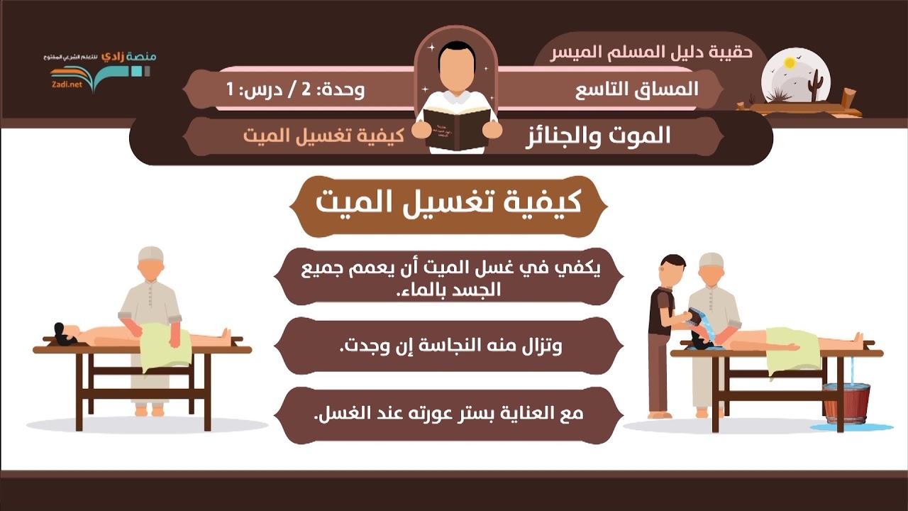 كيفية غسل الميت الشيخ فهد باهمام 1 2 الموت والجنائز منصة زادي Youtube