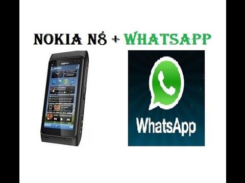 Como Ponerle Whasapp Al Nokia N8