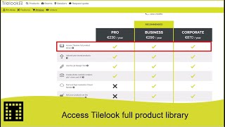 Access to the full product library