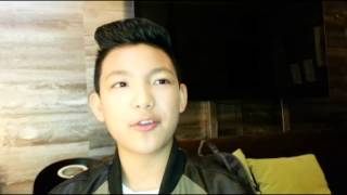 Darren Espanto thanks Kris Aquino