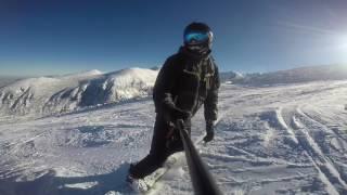 Snowboarding  Borovets 2016-2017