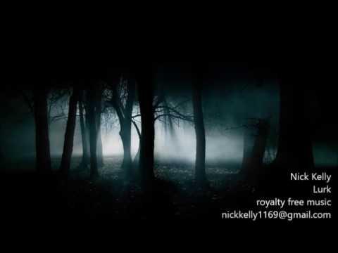 lurk. royalty free music. dark. suspenseful. tense. horror. chase