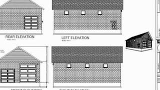 Plan #211 Custom 32 X 50 Garage Plan