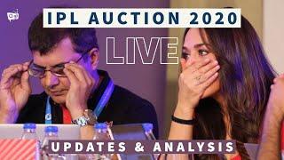 Live IPL Auction 2020 Fan Chat: CSK, MI, RCB, SRH, KKR, KXIP, DC, RR