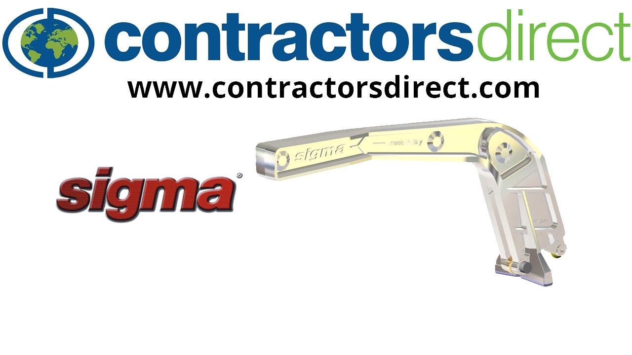 sigma 2d4 24 push handle tile cutter