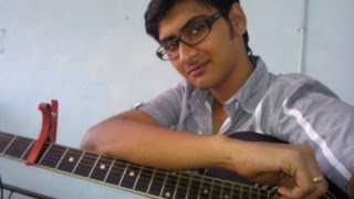 """Ishq wala love"" (Student of the year) Guitar lesson by Mykee"