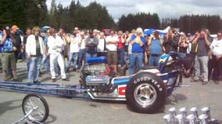 Nitro Dragster Start Up  Arlington Washington 2008