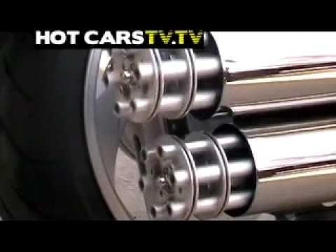 Tiếng bô xe máy khủng 1- GATLING GUN EXHAUST