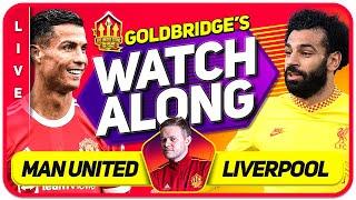 MANCHESTER UNITED vs LIVERPOOL LIVE GOLDBRIDGE Watchalong!