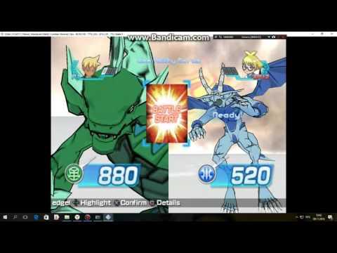 bakugan battle brawlers |на пк| конец турнира  #3