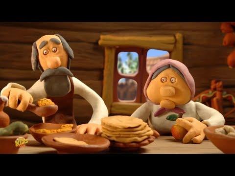 Глинька - Русская сказка | мультики для детей | советские мультфильмы | Glin'ka - The Clayboy