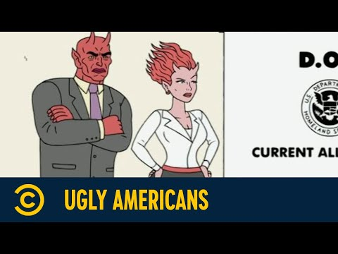 Wie Randall zum Zombie wurde | Ugly Americans | Comedy Central Germany