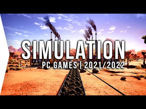 30 New Upcoming PC Simulation Games in 2021 & 2022 ► Management Tycoon & Colony Building Sims!