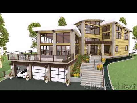split-level-hillside-house-plans