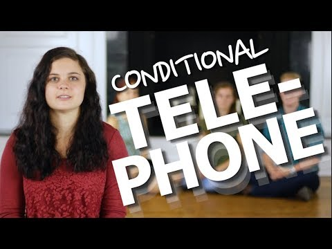 "Teach Formal Logic: ""Conditional Telephone"" Game!"