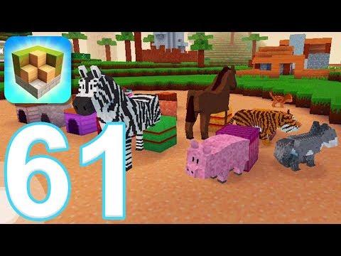 Block Craft 3D: City Building Simulator - Gameplay Walkthrough Part 61 - All Animals Unlocked (iOS) - 동영상