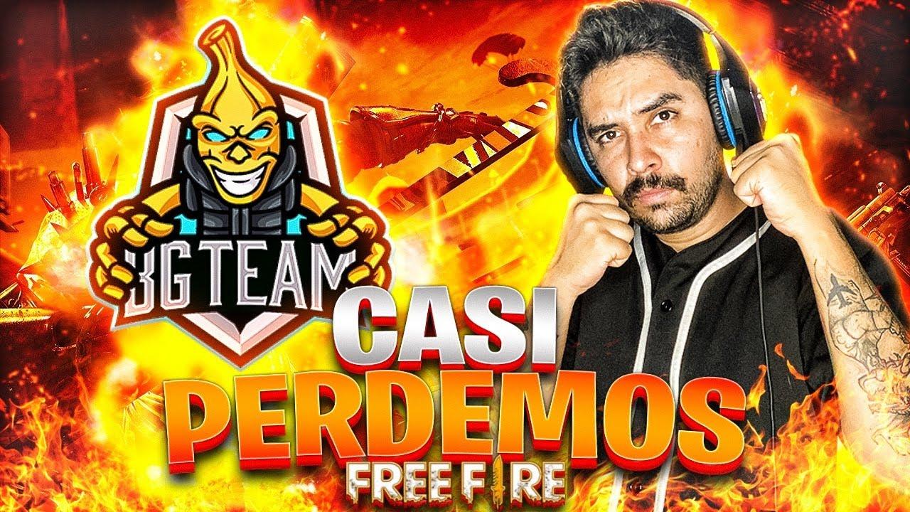PENSAMOS QUE YA HABÍAMOS GANADO Y CASI PERDEMOS EN FREE FIRE