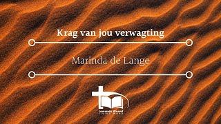 29 March 2021 - Marinda de Lange