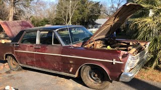 1966 Ford Galaxie 500 Barnfind Part 2