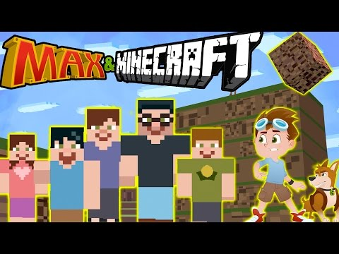 MAX IN MINECRAFT???! Will his Family save him? || Kids Animation! Max & Midnight Episode 10