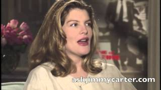 Rene Russo interview with Jimmy Carter