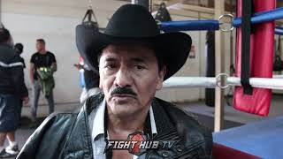 """LEO SANTA CRUZ SAYS MARES FOUGHT DIRTY IN 1ST FIGHT """"I TRAINED LEO TO KO MARES!"""""""