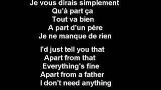 Si Seulement Je Pouvais Lui Manquer - Calogero - French (subs francais -anglais-French-English) thumbnail