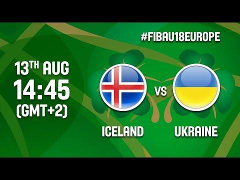 Iceland v Ukraine - Full Game - Class 13-14 - FIBA U18 Women's European Championship 2017 - DIV B