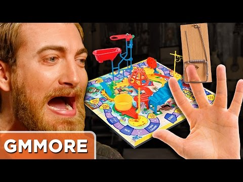 Thumbnail: Playing Mouse Trap with REAL MOUSETRAPS