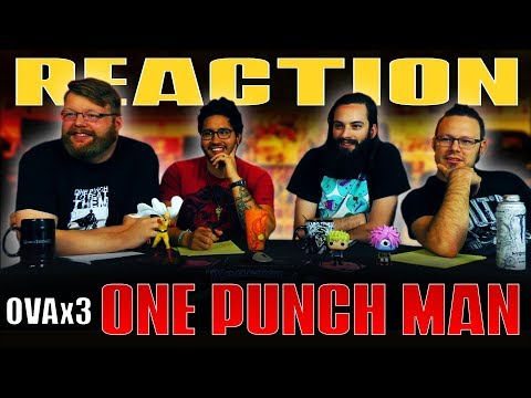 """One Punch Man: OVA #3 REACTION!! """"The Ninja Who is Too Complicated"""""""