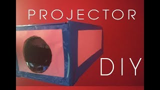 DIY Smartphone Projector at Home using Shoebox